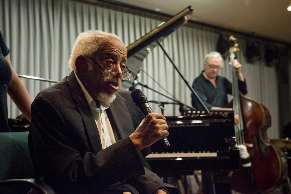 Barry Harris durante el seminario
