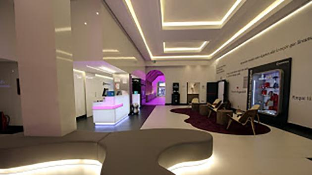 Hall del Hotel Ilunion Suites Madrid